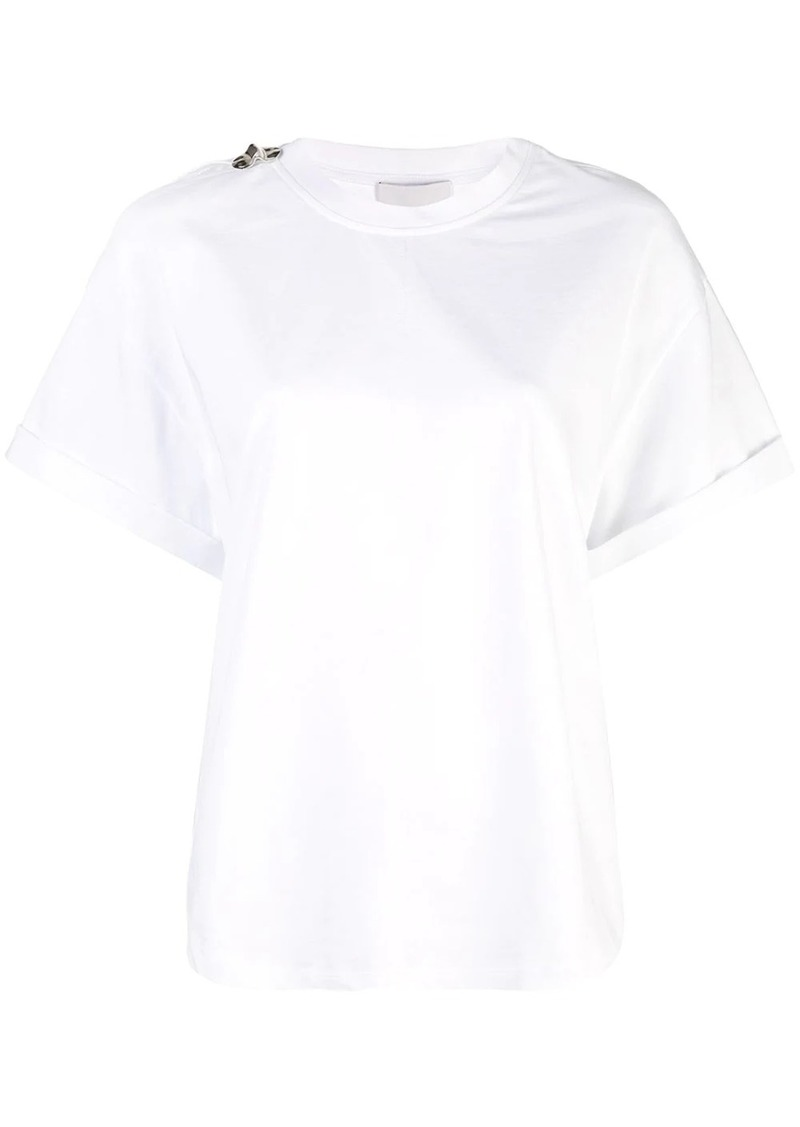 3.1 Phillip Lim Oversized T-Shirt With Shoulder Slit