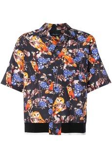 3.1 Phillip Lim owl print shirt