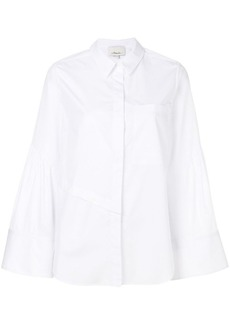 3.1 Phillip Lim panelled long-sleeve shirt