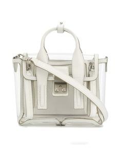 3.1 Phillip Lim Pashli transparent mini satchel