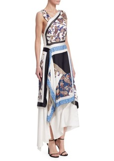 3.1 Phillip Lim Patchwork Handkerchief Dress