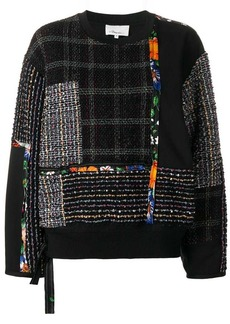 3.1 Phillip Lim patchwork jumper