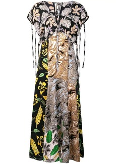 3.1 Phillip Lim patchwork maxi dress