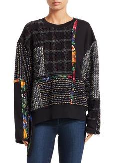 3.1 Phillip Lim Patchwork Tweed Sweater
