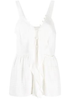 3.1 Phillip Lim pearl-embellished camisole