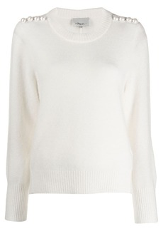 3.1 Phillip Lim pearl-embellished jumper