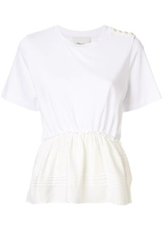 3.1 Phillip Lim Pearl Shoulder T-Shirt