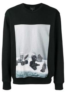3.1 Phillip Lim photographic print sweatshirt