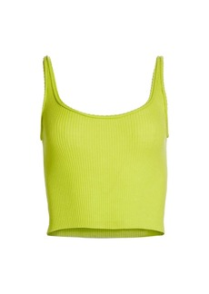 3.1 Phillip Lim Picot Stitch Knit Tank Top