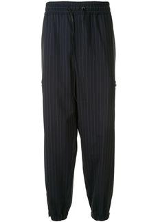 3.1 Phillip Lim pinstripe cargo track pants