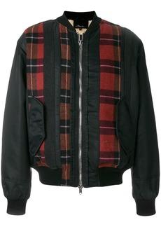 3.1 Phillip Lim plaid-panel bomber jacket