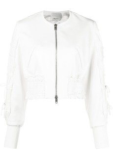 3.1 Phillip Lim pleated bomber jacket