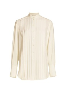 3.1 Phillip Lim Pleated Button-Up Shirt