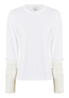 3.1 Phillip Lim Pleated Cuff Shirt