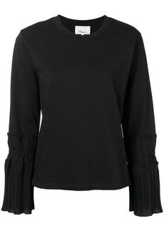 3.1 Phillip Lim pleated-cuff sweater