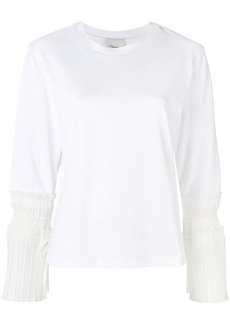 3.1 Phillip Lim pleated cuff sweatshirt