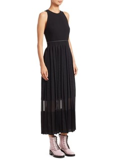 3.1 Phillip Lim Sleeveless Pleated Dress