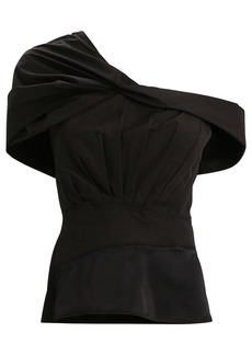 3.1 Phillip Lim Pleated One-Shoulder Top