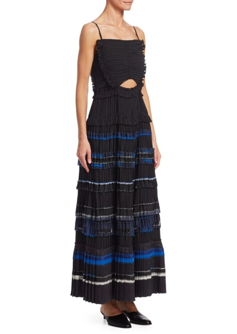 3.1 Phillip Lim Pleated Ruffle Dress