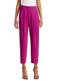3.1 Phillip Lim Pleated Tapered Cropped Trousers