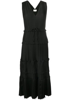 3.1 Phillip Lim V-neck pleated midi dress