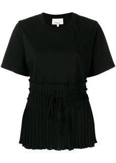 3.1 Phillip Lim Pleated-Waist T-Shirt