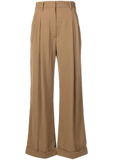 3.1 Phillip Lim pleated wide leg trousers