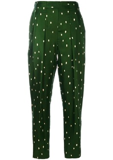 3.1 Phillip Lim polka dot tailored trousers