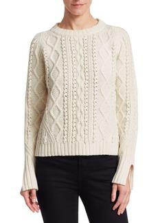3.1 Phillip Lim Popcorn Knit Wool Sweater