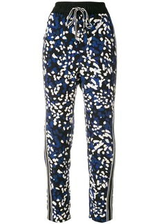 3.1 Phillip Lim printed drawstring trousers