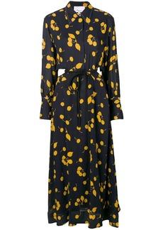 3.1 Phillip Lim printed maxi shirt dress