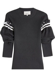 3.1 Phillip Lim Pullover with Ruffled Trims