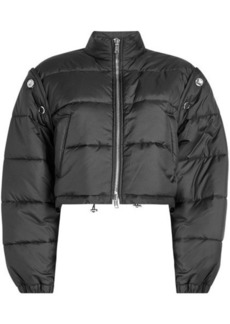 3.1 Phillip Lim Quilted Bomber Jacket with Detachable Sleeves