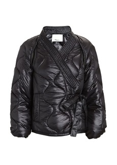3.1 Phillip Lim Quilted Kimono Utility Jacket