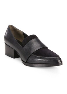 3.1 Phillip Lim Quinn Leather & Suede Loafers