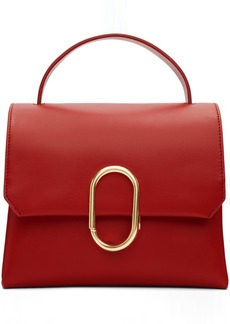 3.1 Phillip Lim Red Mini Alix Top Handle Satchel