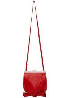 3.1 Phillip Lim Red Mini Estelle Case Bag