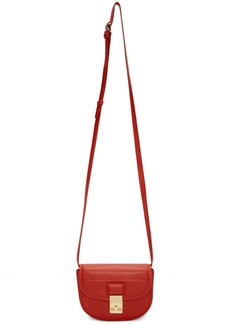 3.1 Phillip Lim Red Mini Pashli Saddle Belt Bag