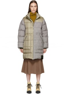 3.1 Phillip Lim Reversible Multicolor Panelled Down Jacket