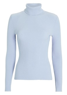 3.1 Phillip Lim Rib Knit Turtleneck Sweater