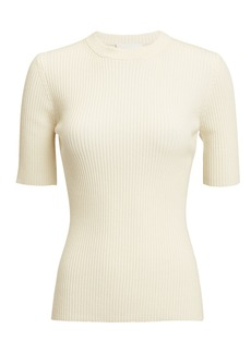 3.1 Phillip Lim Ribbed Crewneck Top
