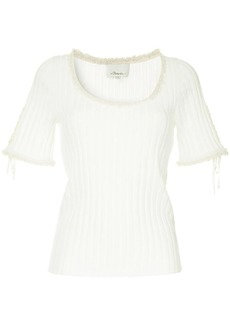 3.1 Phillip Lim ribbed knit top