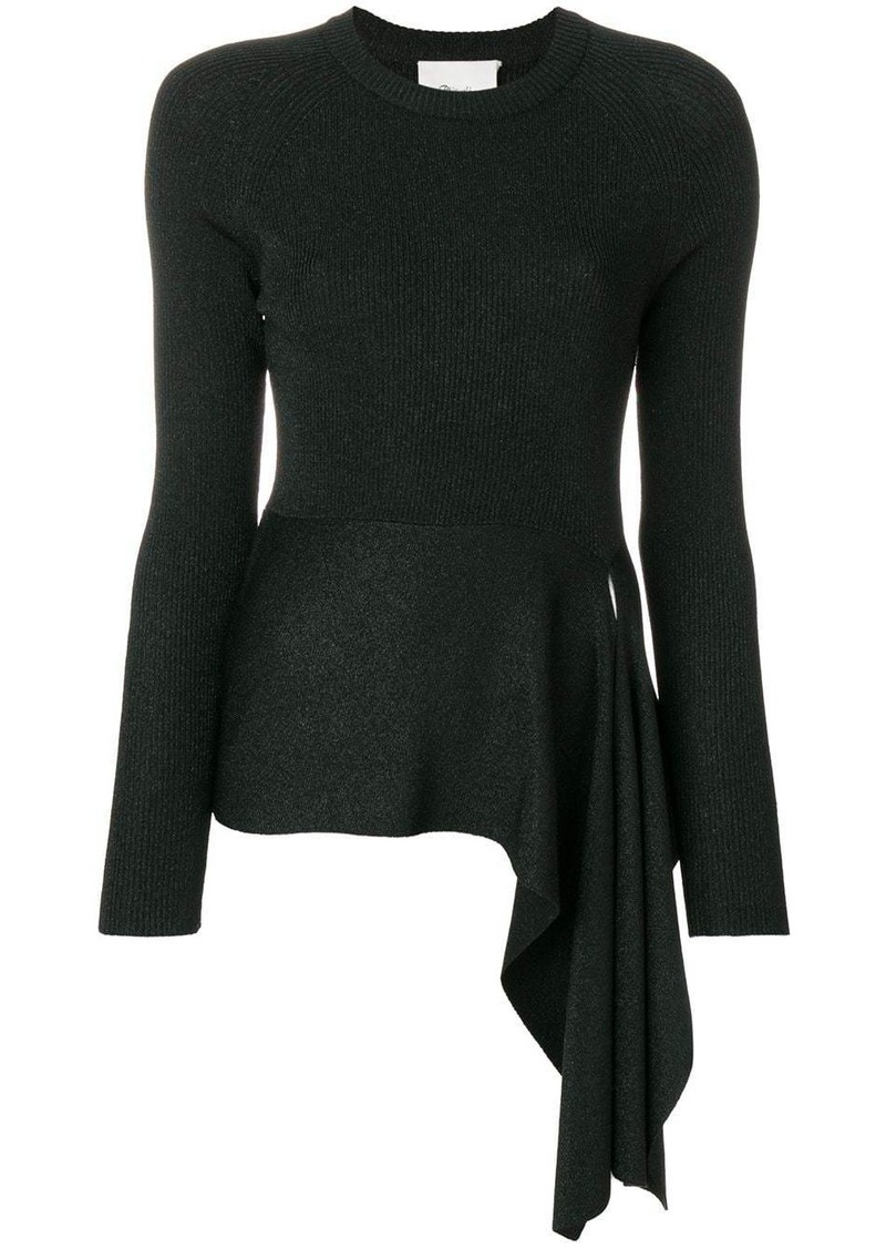 3.1 Phillip Lim Ribbed Side-Tie Sweater
