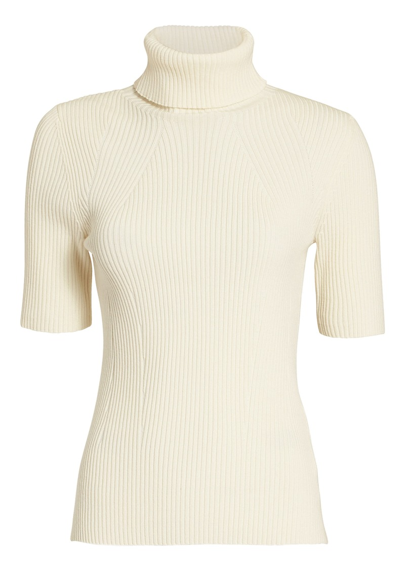 3.1 Phillip Lim Ribbed Turtleneck Top