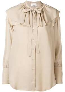3.1 Phillip Lim Ruffle-Collar Silk Blouse