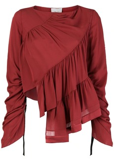 3.1 Phillip Lim Ruffle-Layered Blouse