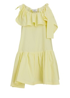 3.1 Phillip Lim Ruffled Cotton Tent Mini Dress