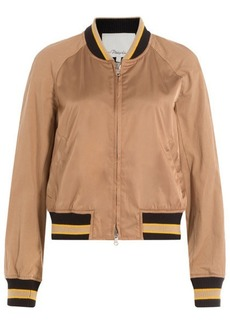 3.1 Phillip Lim Satin Bomber Jacket