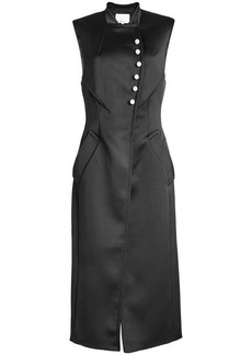 3.1 Phillip Lim Satin Dress with Faux Pearls