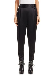 3.1 Phillip Lim Satin Tie-Waist Ankle Pants